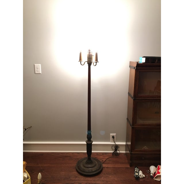 Dorable wood torchiere floor lamp photo best home decorating ideas carved wood leviton torchiere floor lamp chairish aloadofball Image collections