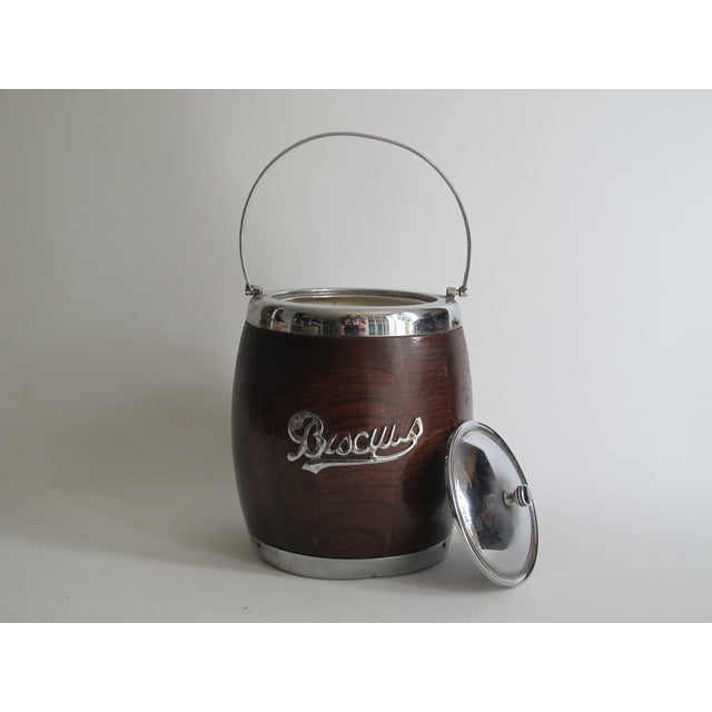 English Biscuit Barrel - Image 3 of 5