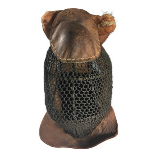 Antique Saber Fencing Mask For Sale