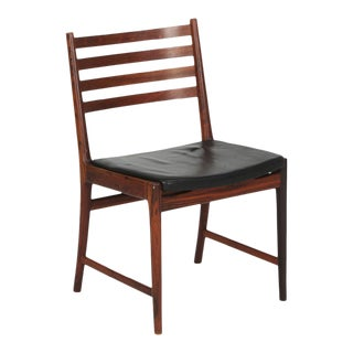 Kai Lyngfeldt Larsen Set of Six Dining Chairs of Brazilian Rosewood For Sale