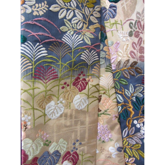 Vintage Silk Embroidered Japanese Wedding Kimono - Image 10 of 10