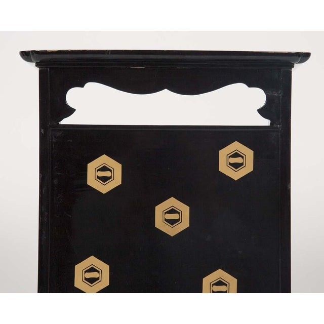 Asian Japanese Lacquer Cosmetics Cabinet For Sale - Image 3 of 13