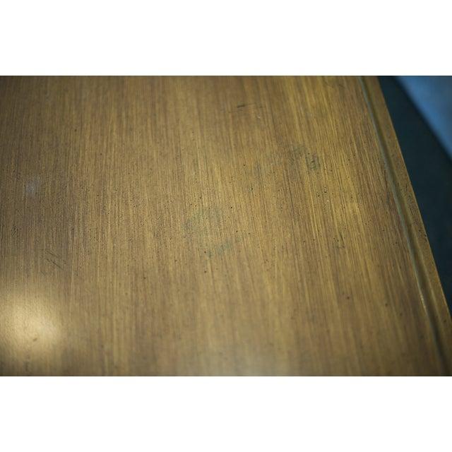 Wood Clawfoot Coffee Table - Image 5 of 6