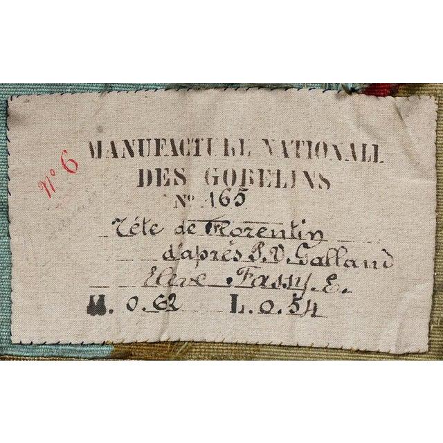 Renaissance Revival Framed Tapestry by Gobelin after P-V Galland For Sale - Image 5 of 6