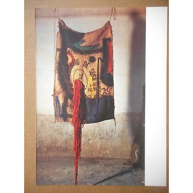 Joan Miró Vintage Mid 20th C. Quadrichrome Photographic Prints-Derriere Le Miroir-Miro-Tapestries-A Pair For Sale - Image 4 of 8