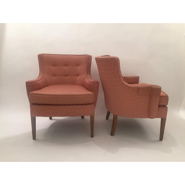 Italian Mid-Century Curved Arm Chairs - A Pair - Image 4 of 11