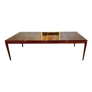 Mid-Century Modern Tommi Parzinger Originals Dining Table Mahogany, Custom Palatial Size For Sale