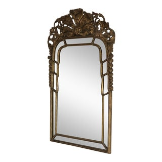 19th Century French Rococo Style Mirror For Sale