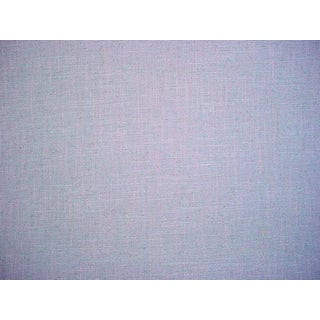3-3/8y Kravet Couture Kate Spade 34068 Dazzle Linen Spa Blue Upholstery Fabric For Sale