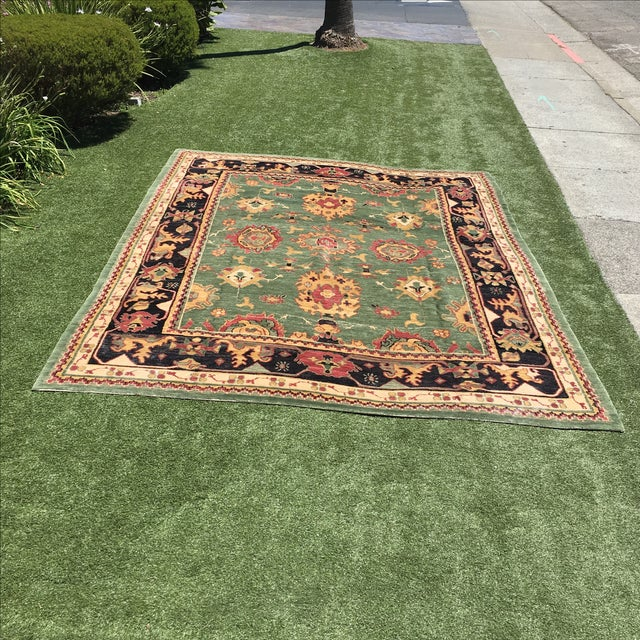 Large Handknotted Nepalese Rug - 9′ × 11′9″ - Image 2 of 11