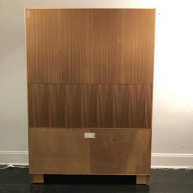 Hundrvad Danish Teak Wall Unit With Drop Down Desk - 2 Pieces For Sale - Image 9 of 13