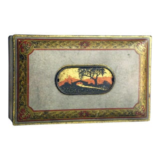 Vintage Southwestern Tin Box by Canco
