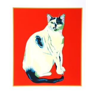 Dody Muller - My Cat Lithograph For Sale
