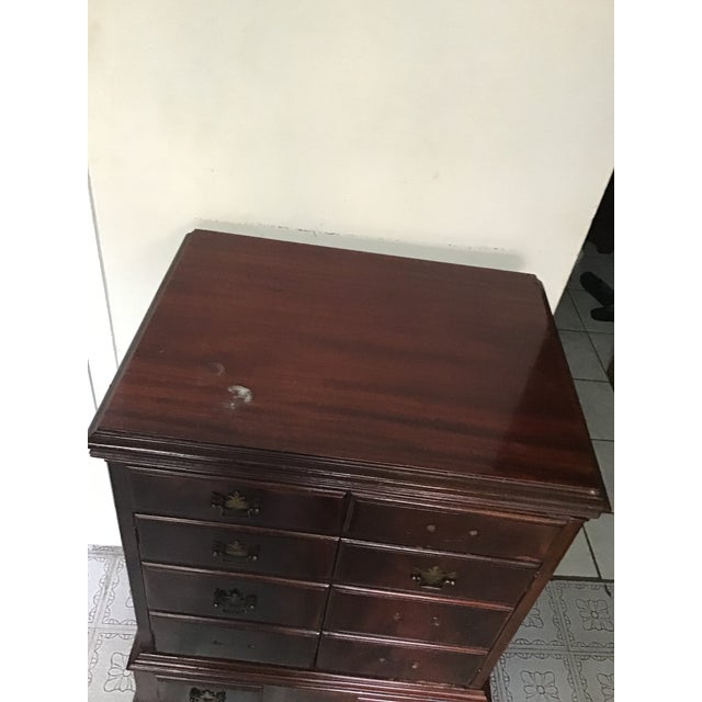 Brown Early 20th Century Antique Stereo Cabinet For Sale - Image 8 of 13