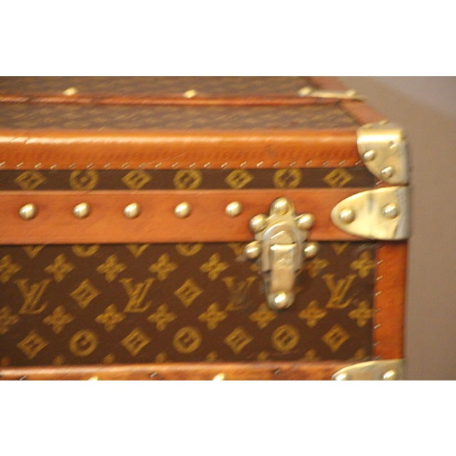 1920s Louis Vuitton Cabin Steamer Trunk For Sale - Image 6 of 13