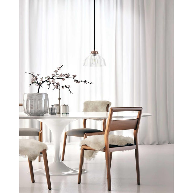 Eero Saarinen Rove Concepts Tulip White Lacquered Table For Sale - Image 11 of 13