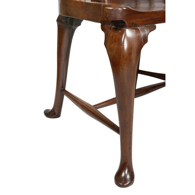 George III Mahogany Captains Armchair For Sale In Boston - Image 6 of 10
