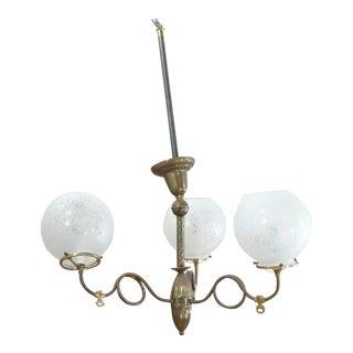 Rejuvenation Light Co. Ceiling Light Fixture For Sale