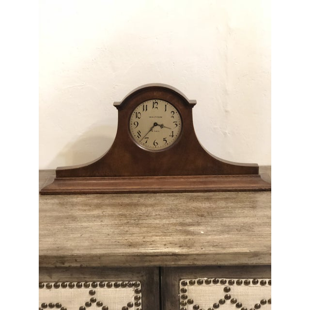 Iron Waltham Eight Day Clock For Sale - Image 7 of 7