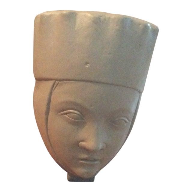 1960s Vintage Alva Studios Woman's Head Sculpture For Sale