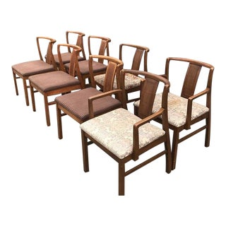 Mid Century Modern Chair Set (8) For Sale
