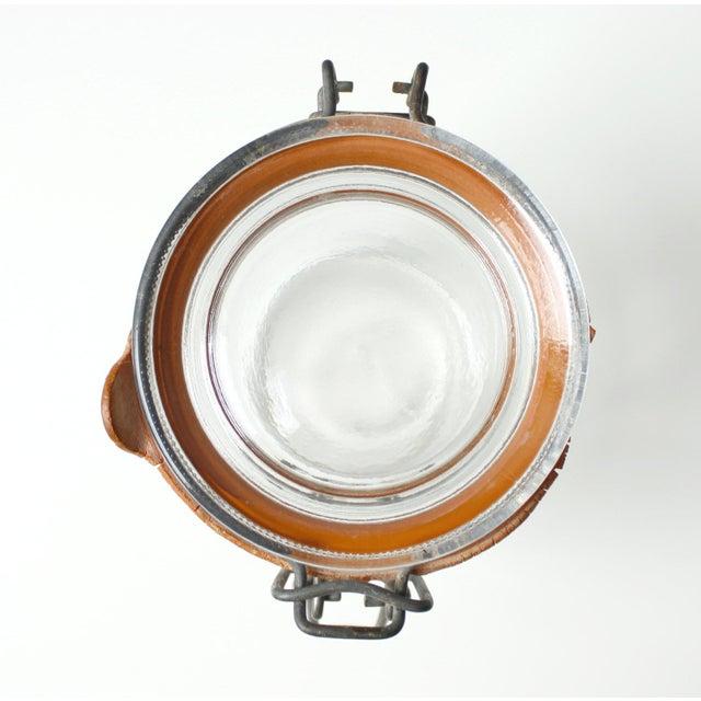Mid-Century Vintage Glass Tea Jar - Image 4 of 5