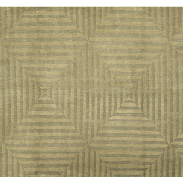 Modern Hand-Knotted Wool Rug - 8′9″ × 12′8″ - Image 3 of 4