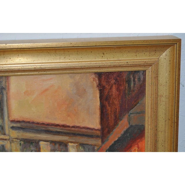 San Francisco Oil Painting by Lorain For Sale In San Francisco - Image 6 of 8