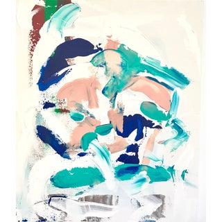 Mykonos Acrylic Painting by Matthew Izzo
