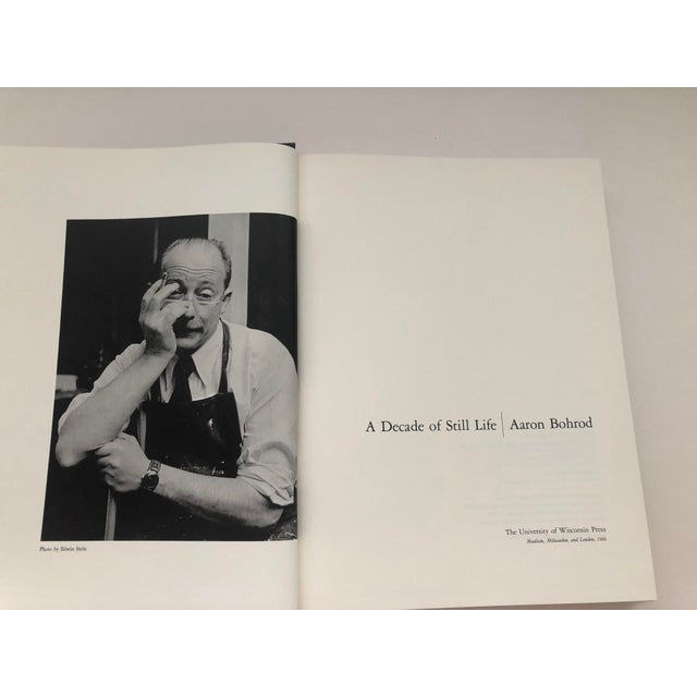 Aaron Bohrod a Decade of Still Life Hardback 1966 For Sale - Image 4 of 8