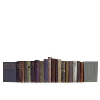 Vintage Lilac & Lace Book Set, S/20 For Sale