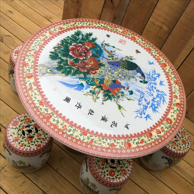 Asian Multi-Use Concrete Set (Garden) For Sale - Image 4 of 11