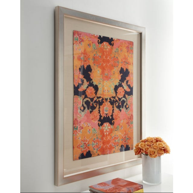 "Horchow ""Indian Batik"" Giclee Print - Image 2 of 2"
