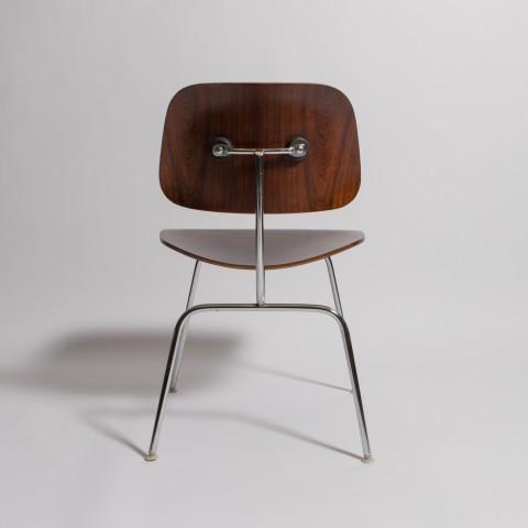 Herman Miller Vintage Rosewood DCM, Herman Miller Charles Eames For Sale - Image 4 of 6