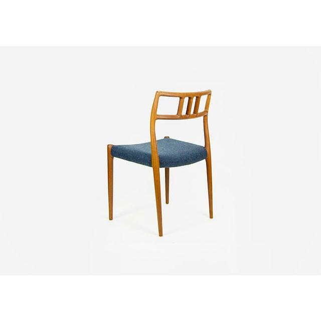 1960s Niels O. Møller Teak Model 79 Dining Chairs - Set of 4 For Sale - Image 5 of 12