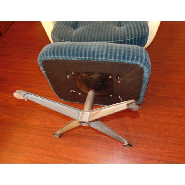 Molded Chair & Ottoman - Image 8 of 11
