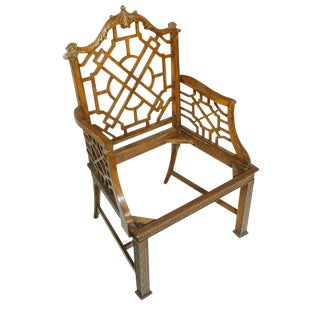 James Mont Chinoiserie Armchair