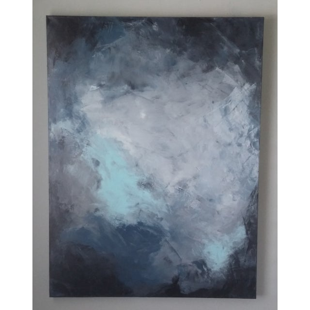 """""""Dark Sky"""" Abstract Art by Kris Gould - Image 3 of 5"""