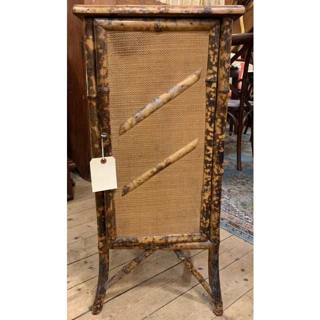 1920s 1920s Chinese Bamboo Cabinet For Sale - Image 5 of 6