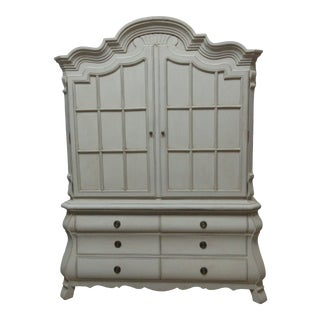Rococo Style Armoir For Sale