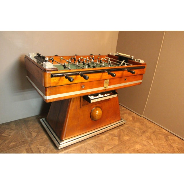 1930s French Foosball Table For Sale - Image 13 of 13