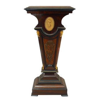 Early 20th Century American Victorian Rosewood Pedestal For Sale