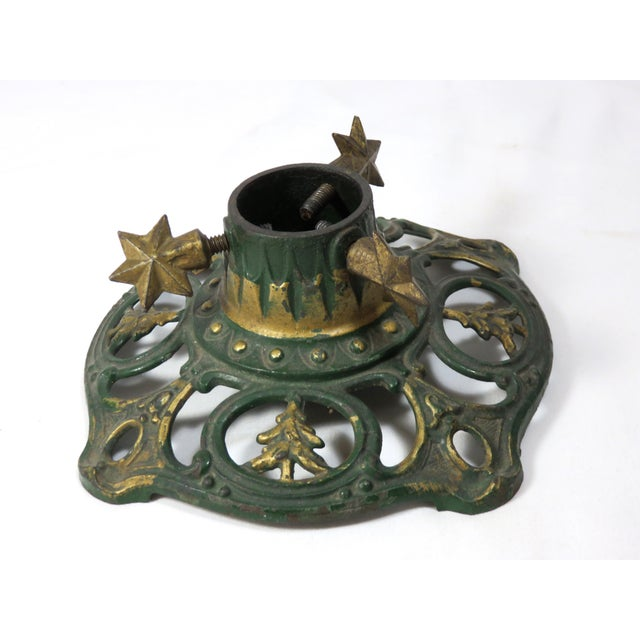 1890s Antique Cast Iron Christmas Tree Stand Chairish