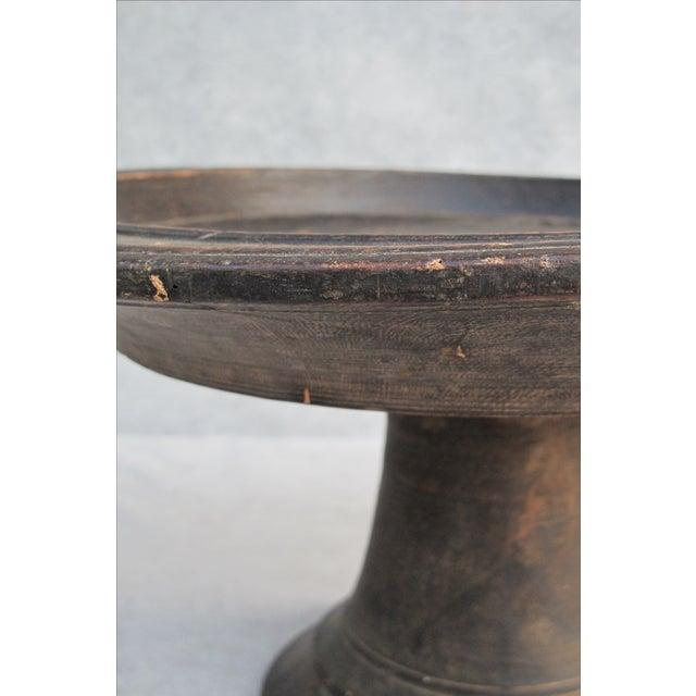 Antique Wooden Compote - Image 6 of 10