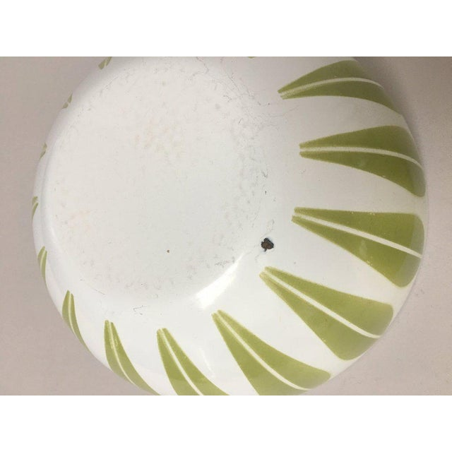 Cathrineholm Scandinavian Modern Enamel Nesting Bowls - Set of 5 For Sale - Image 9 of 11
