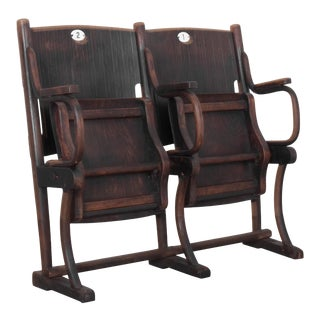 Antique Austrian Cinema Seats For Sale