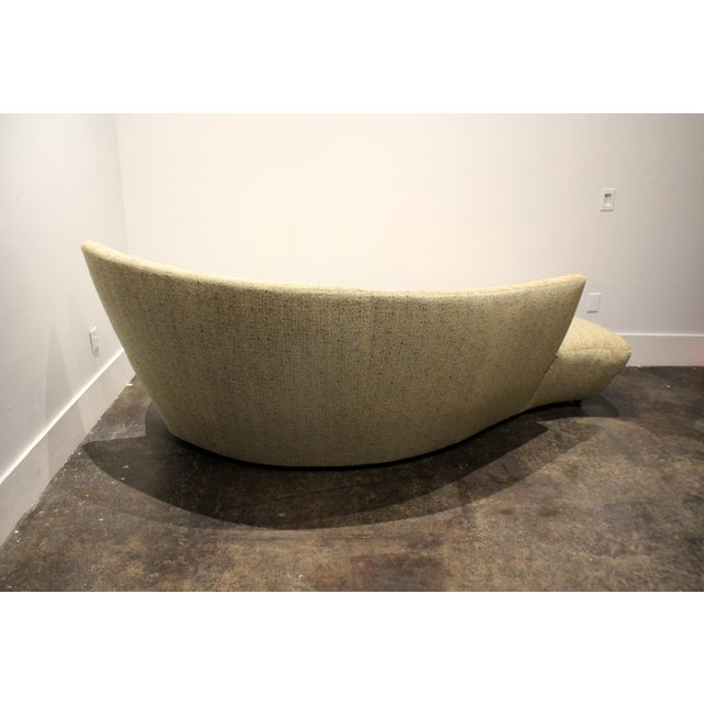 Large Sculptural Bilbao Sofa by Vladimir Kagan For Sale - Image 9 of 12