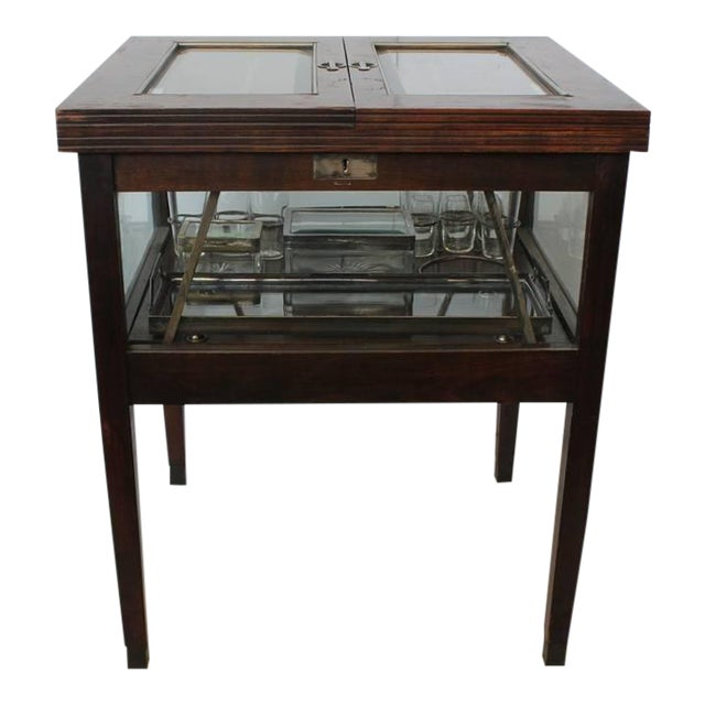 Rare Art Deco Austrian Bar Cart - Image 1 of 2