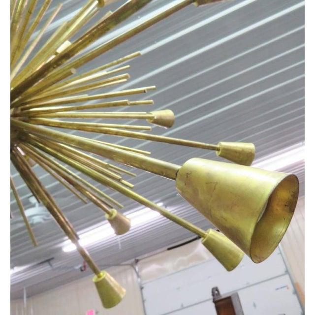 Modern Design Sputnik Chandelier For Sale - Image 4 of 5