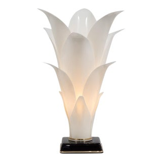 Rougier Tulip Shaped Acrylic Lamp For Sale